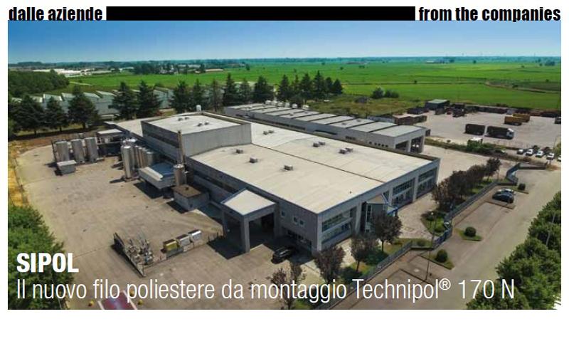SIPOL - Il nuovo filo poliestere da montaggio TECHNIPOL 170 N